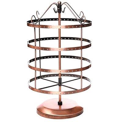 Display oorbellen molen rond (96 p) koper