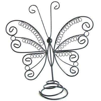 Sieradenrekje vlinder lusjes zilver