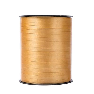 Krullint oranje 5 mm 500 mtr / cadeau lint