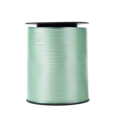 Krullint mint groen 5 mm 500 mtr / cadeau lint