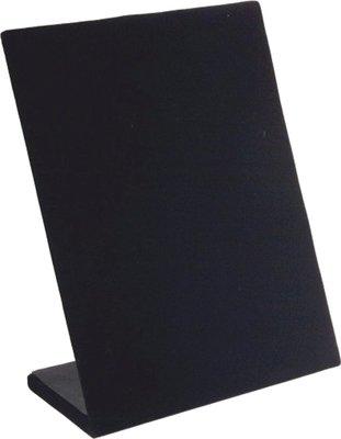 Display oorbellen staand zwart velours 30 paar