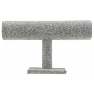 Armbanden display 1 rol grijs / sieraden houder
