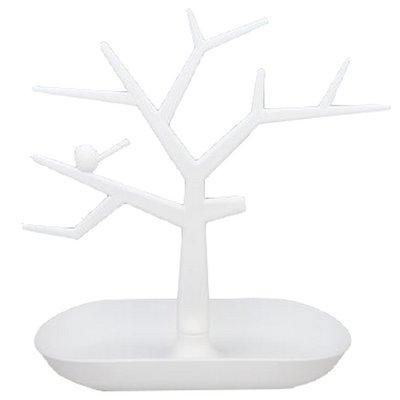 Sieradenboom wit met bakje