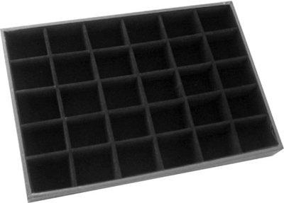 Display kralen box 30 vaks velours