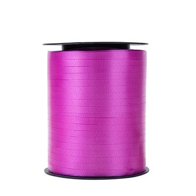 Krullint fuchia 5 mm 500 mtr / cadeau lint
