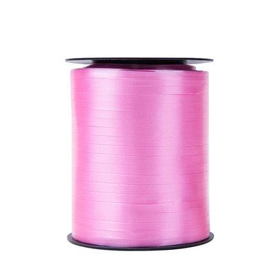 Krullint roze 5 mm 500 mtr / cadeau lint