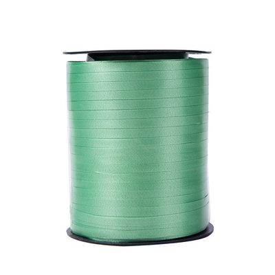Krullint groen 5 mm 500 mtr / cadeau lint