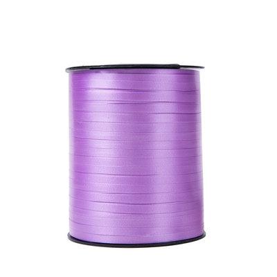 Krullint licht paars 5 mm 500 mtr / cadeau lint