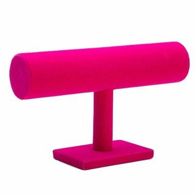 Armbanden houder roze 1 rol / sieraden display