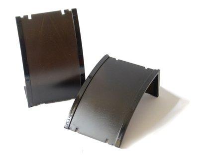4x Oorbellen- / hanger display zwart