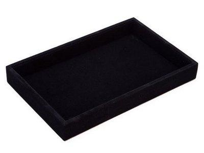 Display box / bak klein zwart 1 vak
