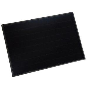 Ringendoos zonder deksel Zwart 35x24x3 cm