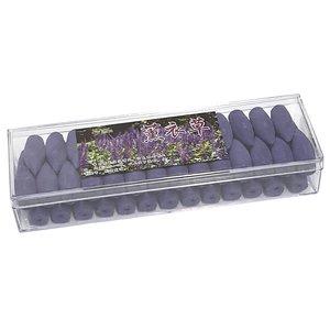Wierook kegels voor waterval groot - Lavendel - 15 minuten - backflow kegeltjes