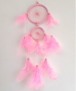 Dromenvanger kinderen - Licht Roze - 45 cm lang