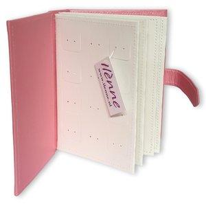 Oorbellen houder - Boekje Roze - Oorbellen organizer