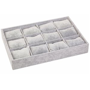Jewelry box gray bracelets / watch box pads