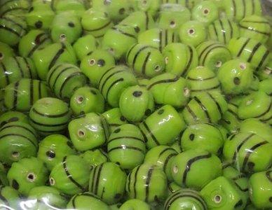 groene kralen