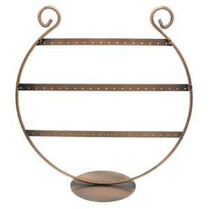Oorbellenrekje harp koper